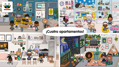 Screenshot for Toca Life: Neighborhood in Colombia App Store