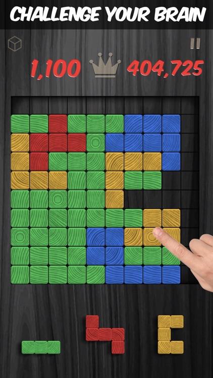 Woodblox - Wood Block Puzzle screenshot-0
