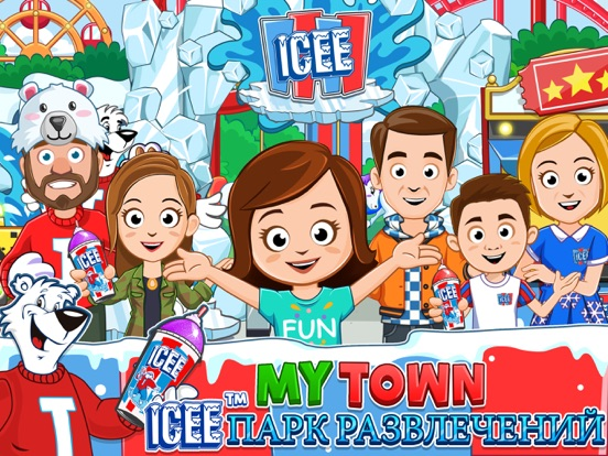 My Town : ICEE™ Amusement Park на iPad