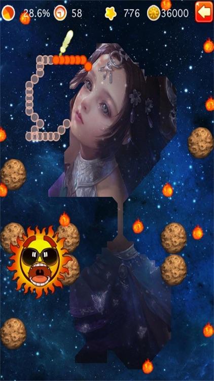 Goddess and Sun