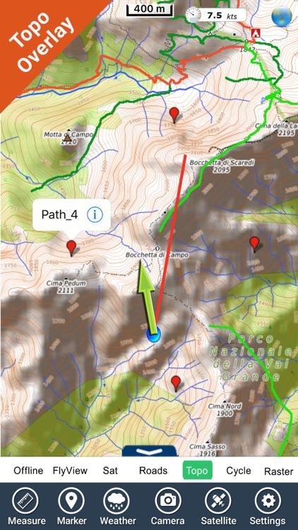 Val Grande National Park - GPS Map Navigator screenshot-3