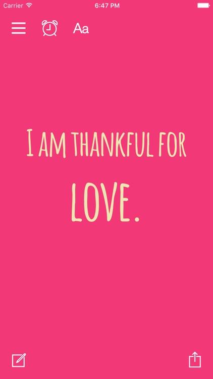 Thankful for - Gratitude Diary screenshot-4