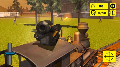 Zombie Survival Train Attack screenshot two