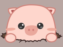 Make your chats amusing with Mumu, a cheerful and funny pink piglet