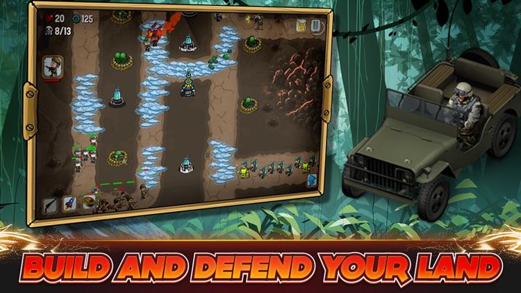 Tower Defense: Modern War PRO screenshot-3