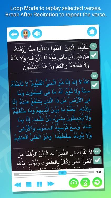 Memorize the Holy Quran (Full) screenshot-4