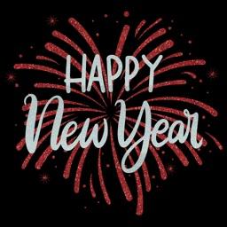 Glitter Happy New Year 2019