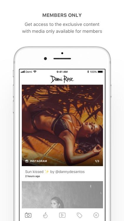 Demi Rose screenshot-3