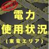 電力使用状況(東電エリア)