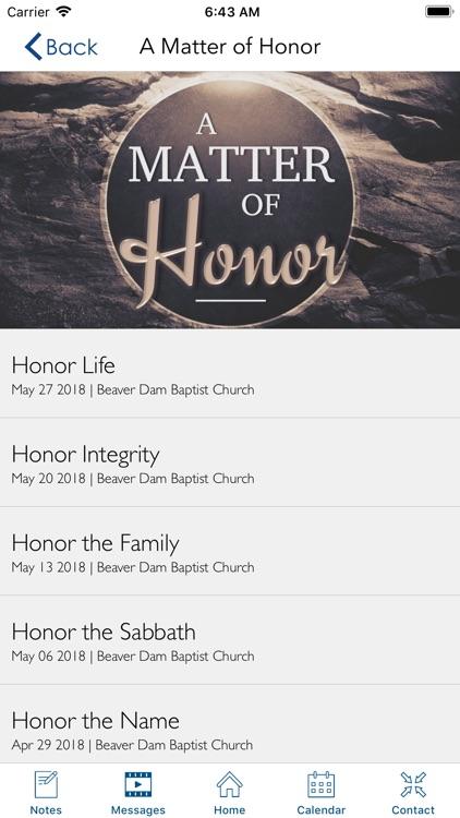Beaver Dam Baptist Church | KY screenshot-4