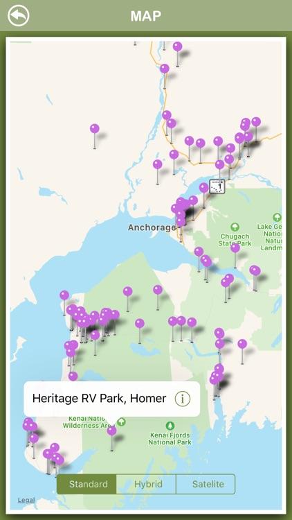 Alaska Campgrounds Offline screenshot-3