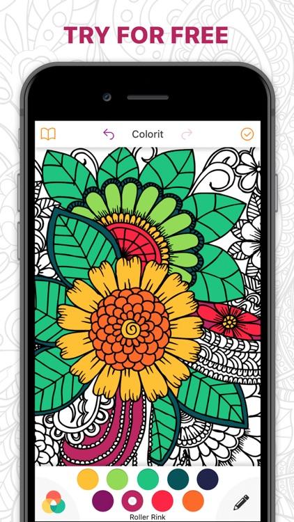 Сolorit: Colouring Art Book