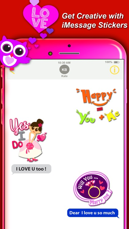 lovemoji sweet love Stickers