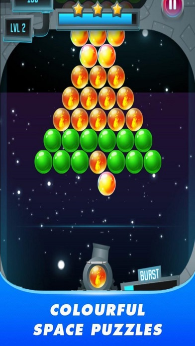 Space Pop Ball screenshot 1