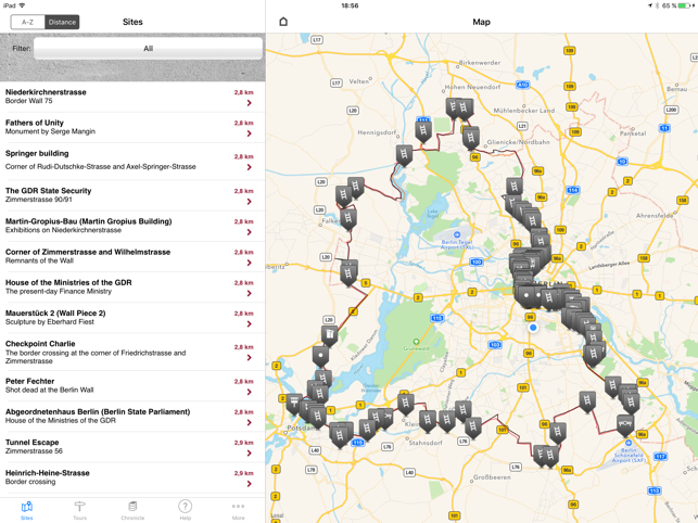 The berlin wall hd on the app store the berlin wall hd on the app store ccuart Choice Image