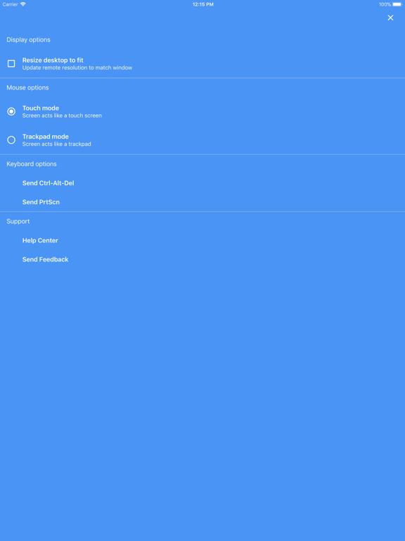 Chrome Remote Desktop-ipad-4