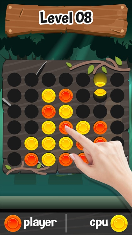 Four in a row (Connect 4)