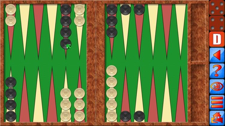 Backgammon V+ screenshot-0