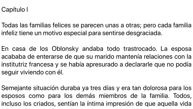 Ana Karenina en español screenshot-3