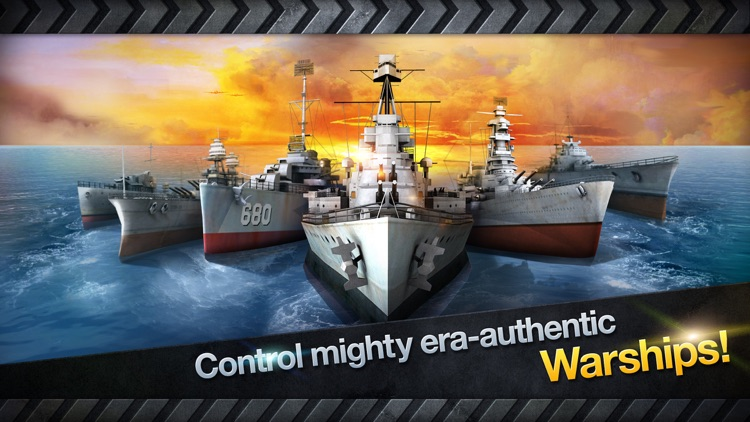 WARSHIP BATTLE:3D World War II screenshot-1