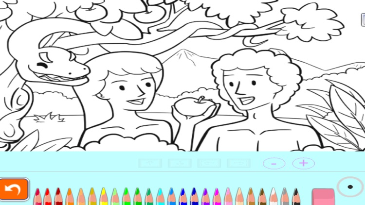 Bible stories: Coloring Book
