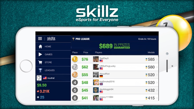 Real Money Pool - Win Cash With Skillz screenshot-4
