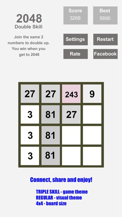 Tri-Sum 2048 - Fun & Cool Math Puzzle Addition Games