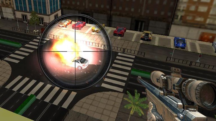 Traffic Sniper Shooting screenshot-4