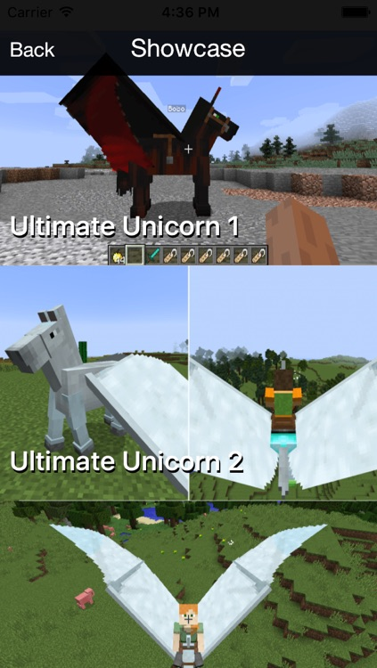 Ultimate Unicorn Pegasus Mod - Flying Horse Mod for Minecraft PC Guide