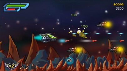 X-Fight Gunship - Galaxy Battle Shooting Simulation Game screenshot three