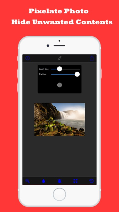 Photo Pixelator - Hide Faces Photo Editor Pro by Sounak Sarkar (iOS