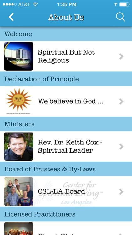Center for Spiritual Living-LA screenshot-3