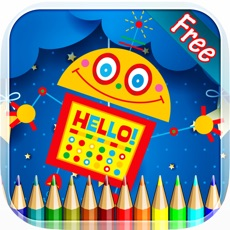 Activities of Robot Coloring Book - Drawing and Painting Colorful for kids games free