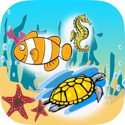 Kids Spelling Sea Animals