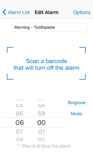 Barcode Alarm Clock Free On The App Store