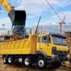 ブリッジビルダー建設トラックドライバーの3Dシミュレータ:伝説のオフロードショベルクレーン