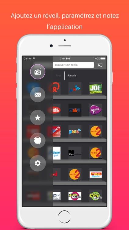 Radios Belgique - le meilleur de la radio belge screenshot-3