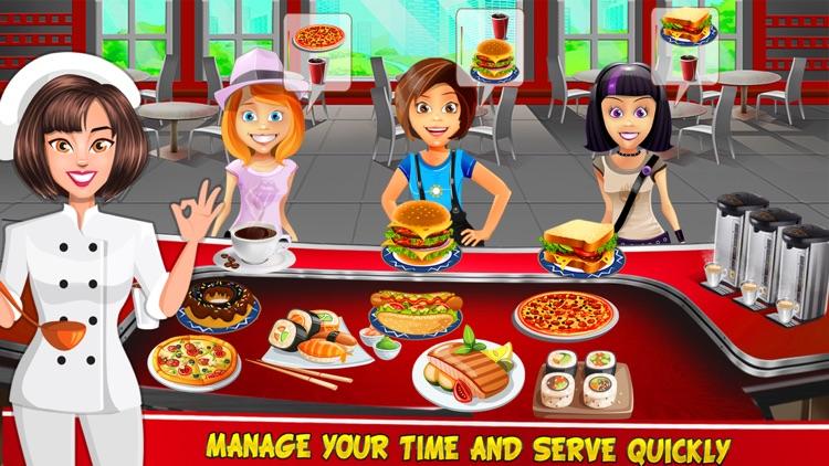 My Sushi Cafe : Food Maker Cooking games for kids screenshot-4
