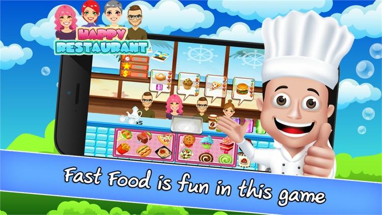 Happy Restaurant Cooking Deluxe screenshot-3
