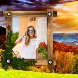 Autumn Photo Frames - Creative Frames for your photo