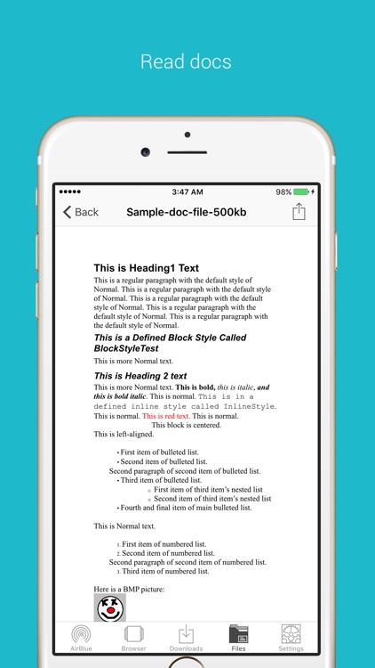 AirBlue Sharing 10 screenshot-3
