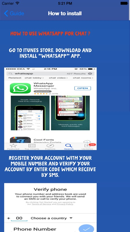 Guide for Whatsapp Free - Online Game Hack and Cheat