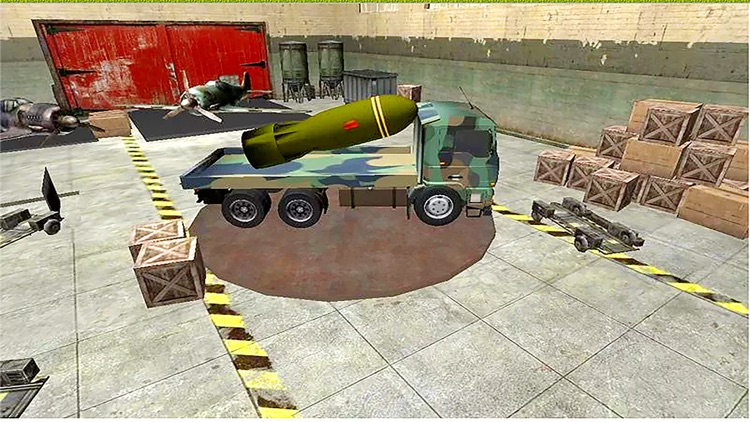 Military Cargo Transport : Army War Missile Cargo Truck Driving & Parking 3D