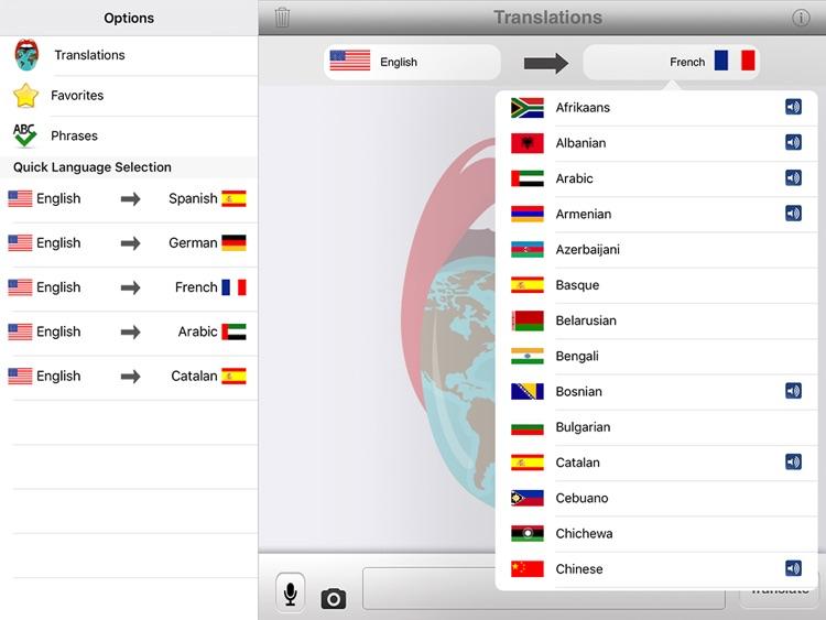Translator with Speech HD Pro screenshot-4