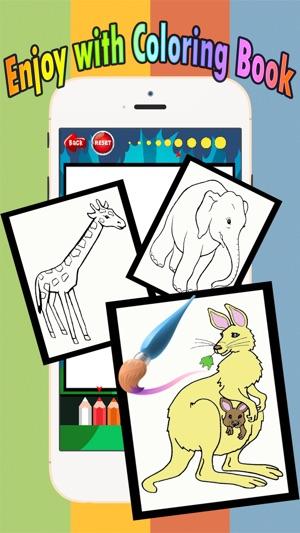 Libro para colorear juegos gratis para los niños 1-10 años de edad ...