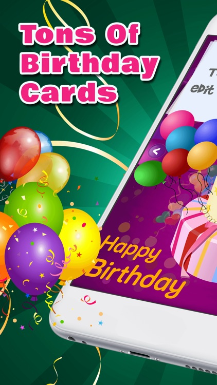 Happy Birthday Greeting Cards – Decorate Custom bDay eCards With Free Photo Card Maker