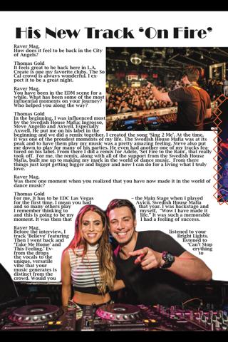 Raver Magazine - náhled