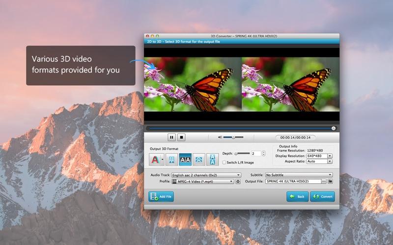 3D视频 转换器 - 2D到3D
