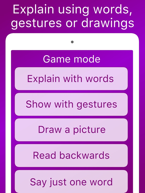 Hands up alias charades and heads up activity game for fun friends company Free-ipad-3