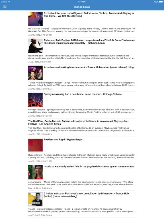 Trance Music Pro - Discover New Dance Music via Radio, DJ Updates & Videos  | App Price Drops